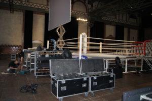Licht & Sound Technik Aufbau