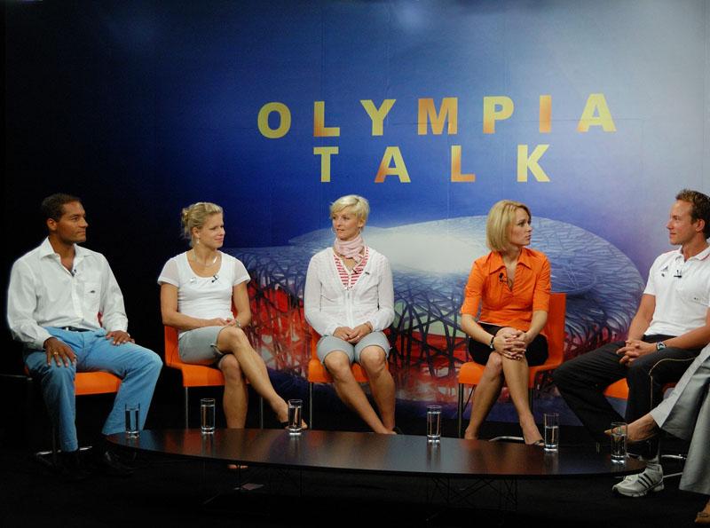 Olympia Talk im Deutschen Haus